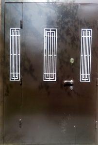 Реставрация стальных дверей