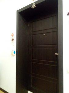 Входная дверь с МДФ откосами